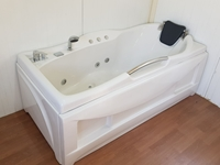 Picture of Hot Whirlpool Bathtub